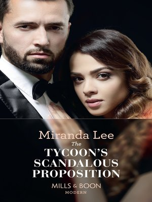 cover image of The Tycoon's Scandalous Proposition